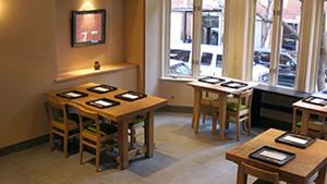 Restaurante Kajitsu, Nueva York